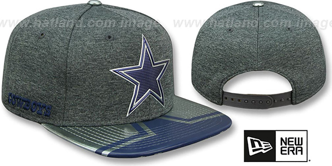 super popular 53337 f1355 Cowboys  2017 NFL ONSTAGE SNAPBACK  Charcoal Hat by New Era