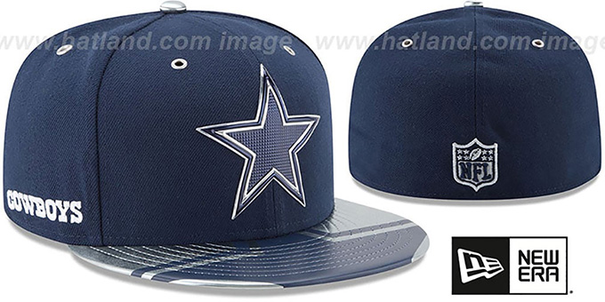 bbc8a21f4a37c Dallas Cowboys 2017 SPOTLIGHT Fitted Hat by New Era