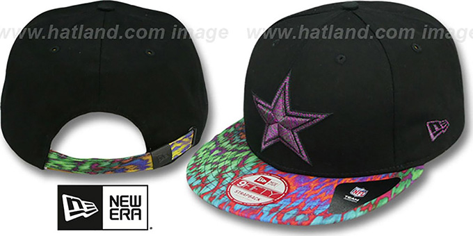 cowboys flyera multi strapback hat by new era