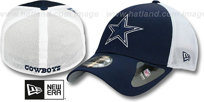 Cowboys 'QB SNEAK FLEX' Hat by New Era : pictured without stickers that these products are shipped with