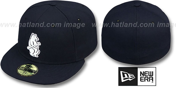 Cubs '1914 ROAD' Fitted Hat by New Era : pictured without stickers that these products are shipped with