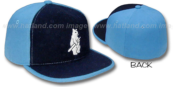 Cubs '1914 WILDSIDE' Navy-Columbia Fitted Hat