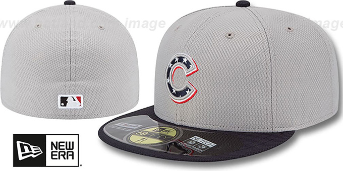Cubs 2013 'JULY 4TH STARS N STRIPES' Hat by New Era : pictured without stickers that these products are shipped with