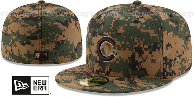 Cubs 2016 MEMORIAL DAY 'STARS N STRIPES' Hat by New Era : pictured without stickers that these products are shipped with