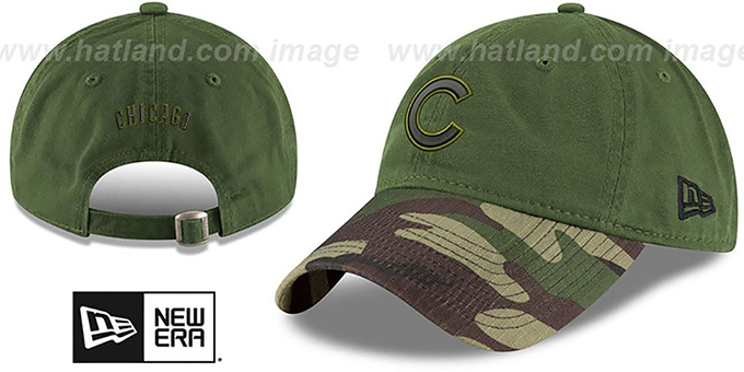 Cubs 2017 MEMORIAL DAY  STARS N STRIPES STRAPBACK  Hat by New Era df46a591d3ff