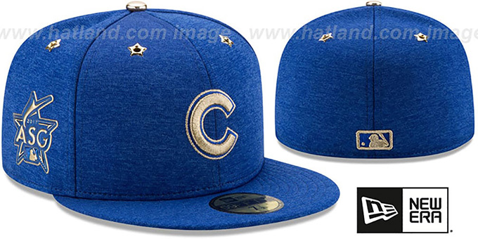 c824f38045c Chicago Cubs 2017 MLB ALL-STAR GAME Fitted Hat by New Era