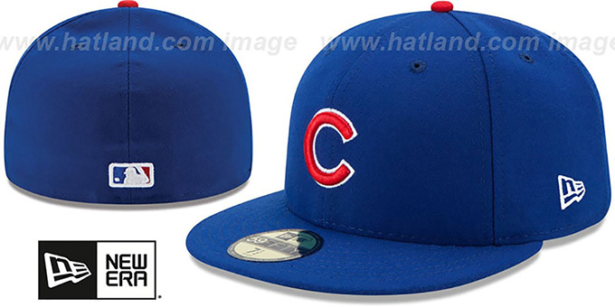 9f10a6a9b7f Chicago Cubs AC-ONFIELD GAME Hat by New Era