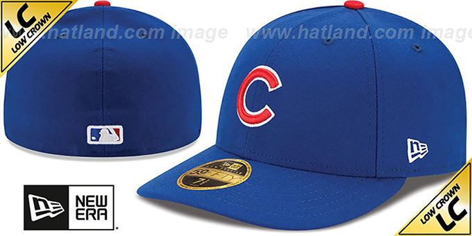 low priced 7b618 a3fcd Cubs  2017 LOW-CROWN ONFIELD GAME  Fitted Hat by New Era