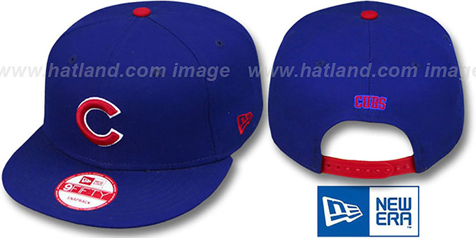 Chicago Cubs REPLICA GAME SNAPBACK Hat by New Era dea354810ef