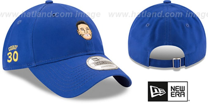 Curry 'PRIMARY PLAYER STRAPBACK' Royal Hat by New Era