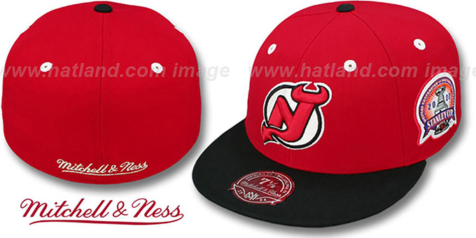 Devils 2000 'COMMEMORATIVE CHAMPS' Hat by Mitchell & Ness : pictured without stickers that these products are shipped with