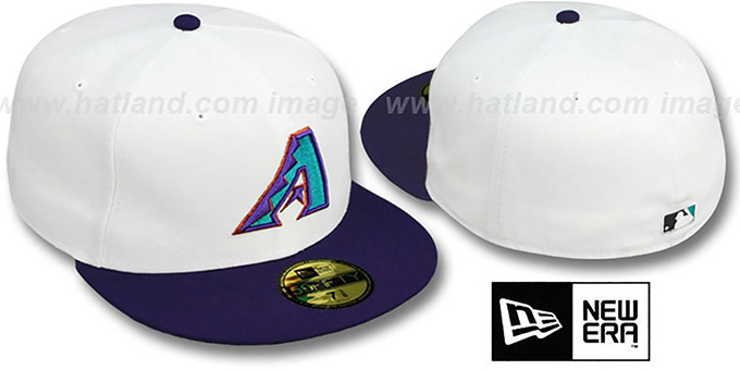 Diamondbacks 1999 'COOP' ALTERNATE-1 Fitted Hat by New Era : pictured without stickers that these products are shipped with