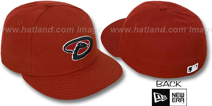 Diamondbacks 'PERFORMANCE ALT2' Hat by New Era : pictured without stickers that these products are shipped with