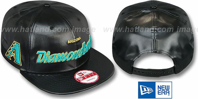 Diamondbacks 'REDUX SNAPBACK' Black Hat by New Era