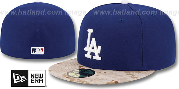 Dodgers '2015 STARS N STRIPES' Fitted Hat by New Era : pictured without stickers that these products are shipped with
