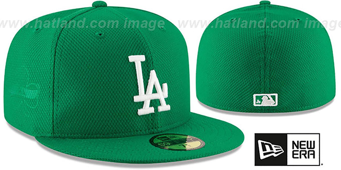 Dodgers '2016 ST PATRICKS DAY' Hat by New Era : pictured without stickers that these products are shipped with