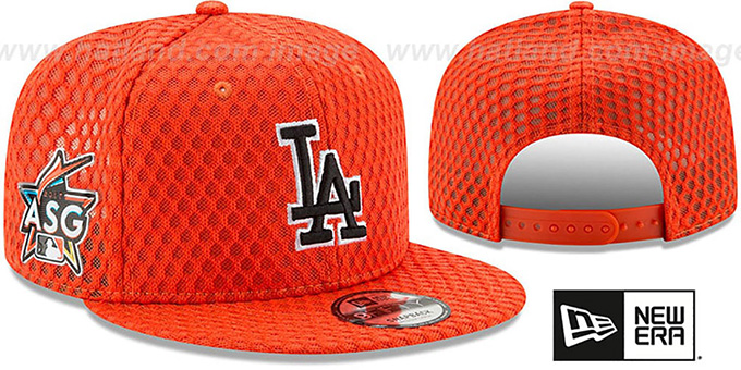 c7a797bb Los Angeles Dodgers 2017 MLB HOME RUN DERBY SNAPBACK Orange Hat by New Era