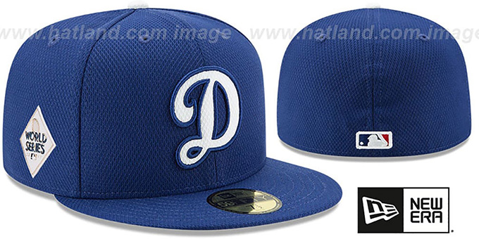 Dodgers '2017 WORLD SERIES' BATTING PRACTICE Hat by New Era