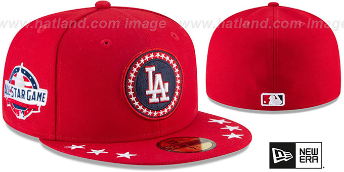 huge selection of f1cee 88bc7 Dodgers  2018 MLB ALL-STAR WORKOUT  Fitted Hat by New Era