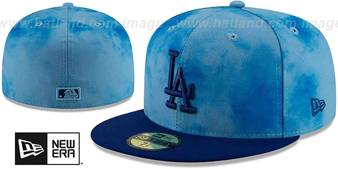 Dodgers '2019 FATHERS DAY' Fitted Hat by New Era