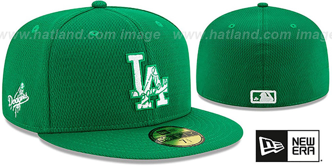 Dodgers 2020 'ST PATRICKS DAY' Fitted Hat by New Era