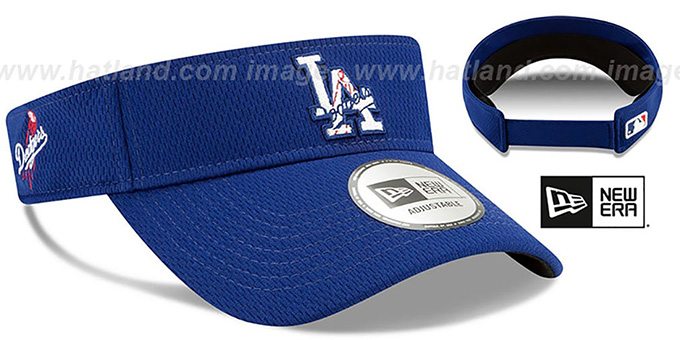 Dodgers 'DASHMARK BP VISOR' Royal by New Era