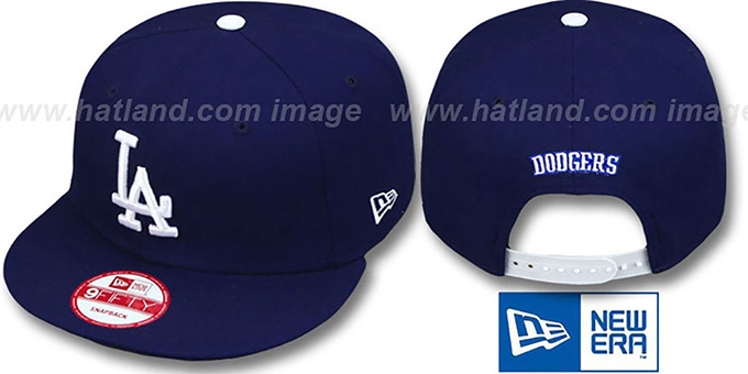 Dodgers 'REPLICA GAME SNAPBACK' Hat by New Era : pictured without stickers that these products are shipped with