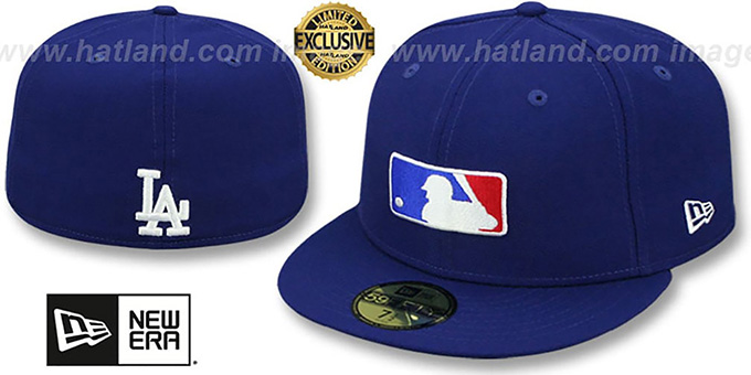Los Angeles Dodgers TEAM MLB UMPIRE Royal Hat by New Era 28b5012fdd7