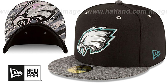 promo code a0b15 d59b3 Philadelphia Eagles 2016 MONOCHROME NFL DRAFT Fitted Hat by New Era. video  available. Eagles  2016 MONOCHROME NFL DRAFT  Fitted Hat by ...