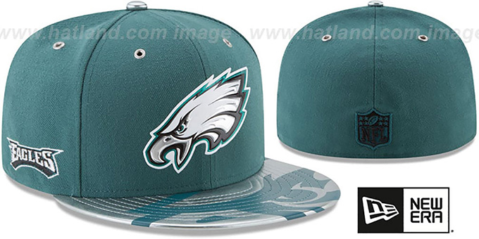 Philadelphia Eagles 2017 SPOTLIGHT Fitted Hat by New Era. Eagles  2017  SPOTLIGHT  Fitted Hat by ... 9ded623ef
