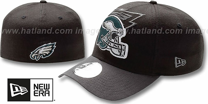wholesale dealer faf21 04f59 Eagles  NFL BLACK-CLASSIC FLEX  Hat by New Era