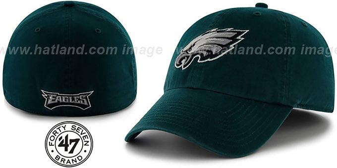 6927c84148886 Philadelphia Eagles NFL FRANCHISE Green Hat by 47 Brand. Eagles  NFL  FRANCHISE  Green Hat by ...
