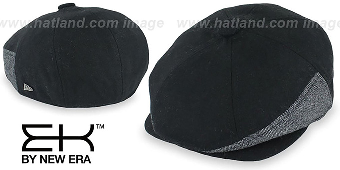 EK 'HERRING-HYBRID NEWSBOY' Black Hat by New Era
