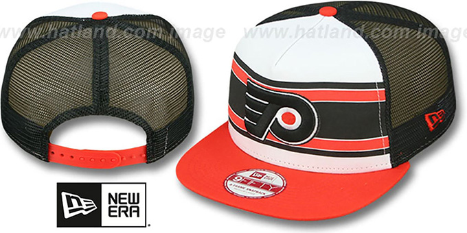 Flyers 'BAND-SLAP SNAPBACK' Hat by New Era : pictured without stickers that these products are shipped with
