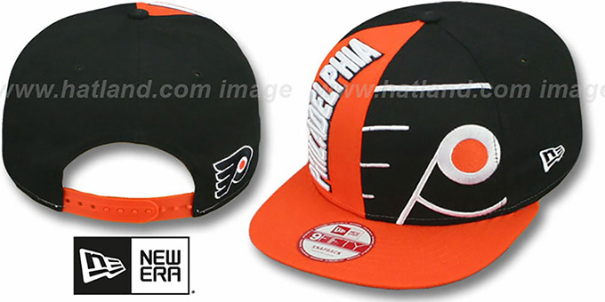 Flyers 'NE-NC DOUBLE COVERAGE SNAPBACK' Hat by New Era : pictured without stickers that these products are shipped with
