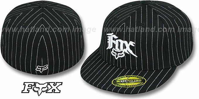 90fdf8b9 ... fox stupor black 210 fitted hat by flexfit
