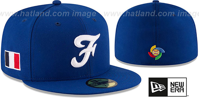 France  PERFORMANCE WBC-2  Royal Hat by New Era 6b435aa2af9