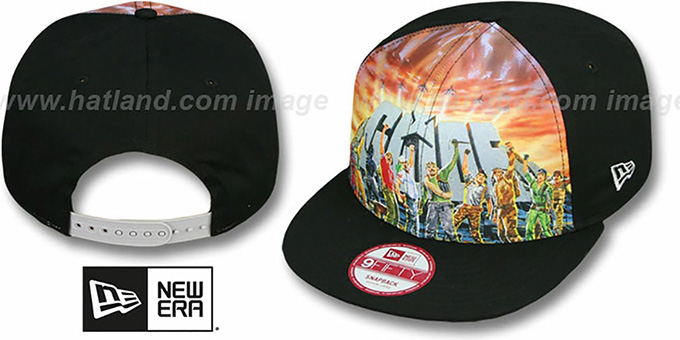 G. I. Joe 'SUB FRONT SNAPBACK' Adjustable Hat by New Era : pictured without stickers that these products are shipped with