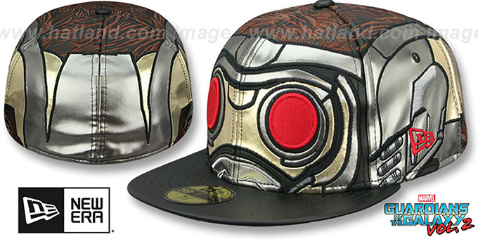 Guardians of the Galaxy STARLORD CHARACTER FACE Vol.2 Fitted Hat by New Era d2a40a7b78d7