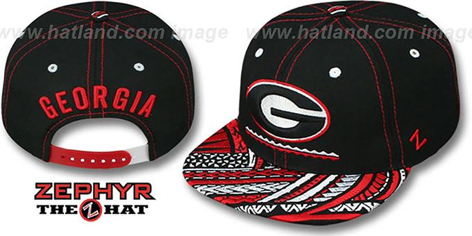 ... uk georgia kona snapback hat by zephyr 84b4e d5028 dd3969e5b4e