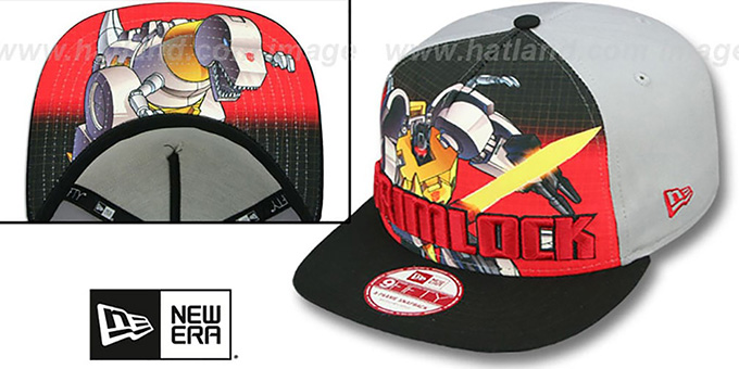 Grimlock 'SUB-RIVAL SNAPBACK' Adjustable Hat by New Era : pictured without stickers that these products are shipped with