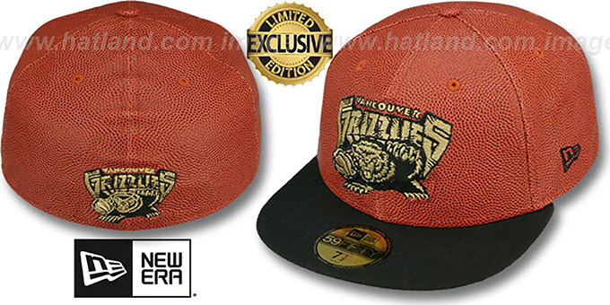 Grizzlies 'BASKET-BALLIN' Fitted Hat by New Era : pictured without stickers that these products are shipped with