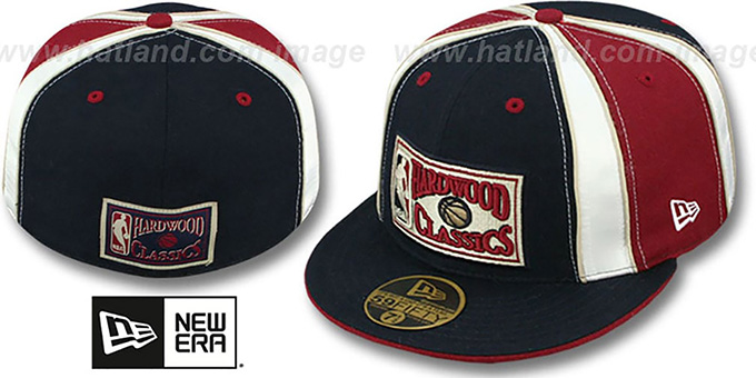 Hardwood Classics 'EXPOSED' Fitted Hat by New Era : pictured without stickers that these products are shipped with