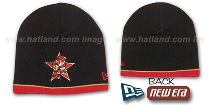 Hawks 'ALL STAR TOQUE' Knit Hat by New Era : pictured without stickers that these products are shipped with