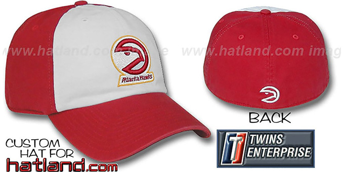 Hawks HW 'FRANCHISE' Hat by Twins : pictured without stickers that these products are shipped with