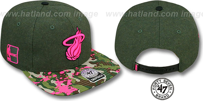 Heat 'COLONEL POTTER' Adjustable Hat by Twins 47 Brand : pictured without stickers that these products are shipped with