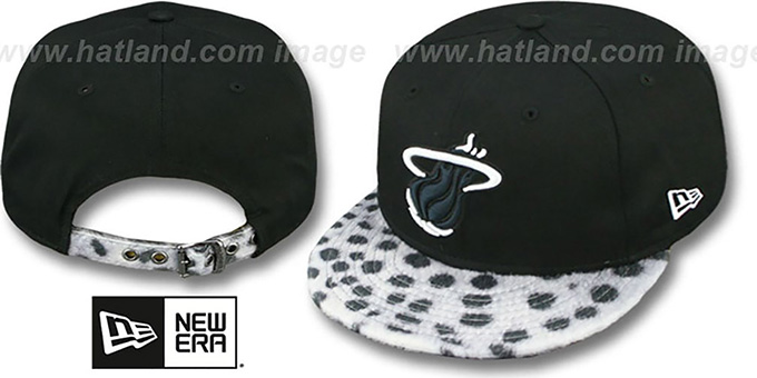 Heat 'DALMATION ANIMALISTIC-FUR VIZA STRAPBACK' Hat by New Era