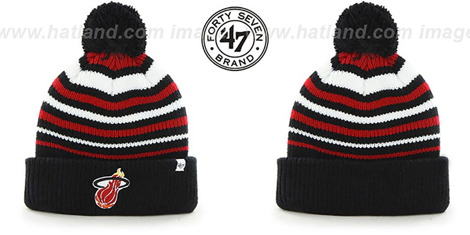 Heat HWC 'INCLINE' Knit Beanie Hat by 47 Brand : pictured without stickers that these products are shipped with