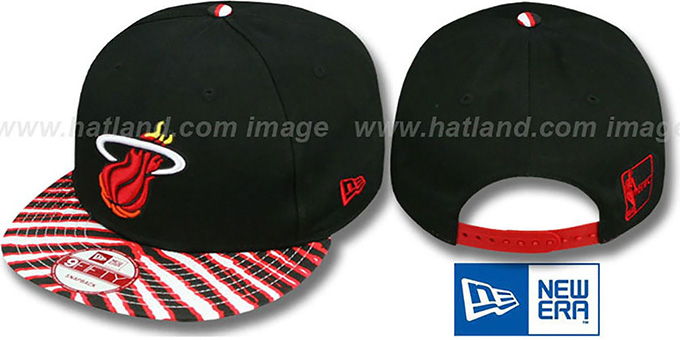 Heat 'ZUBAZ SNAPBACK' Adjustable Hat by New Era : pictured without stickers that these products are shipped with