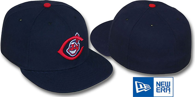 Cleveland Indians 1951-57 Fitted Hat by New Era aa4109ffadf7